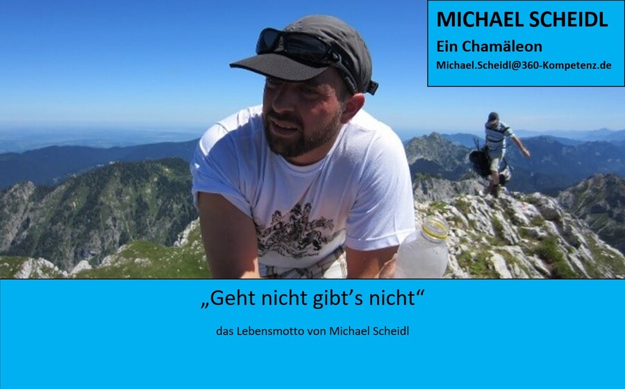 Michael Scheidl Chamäleon